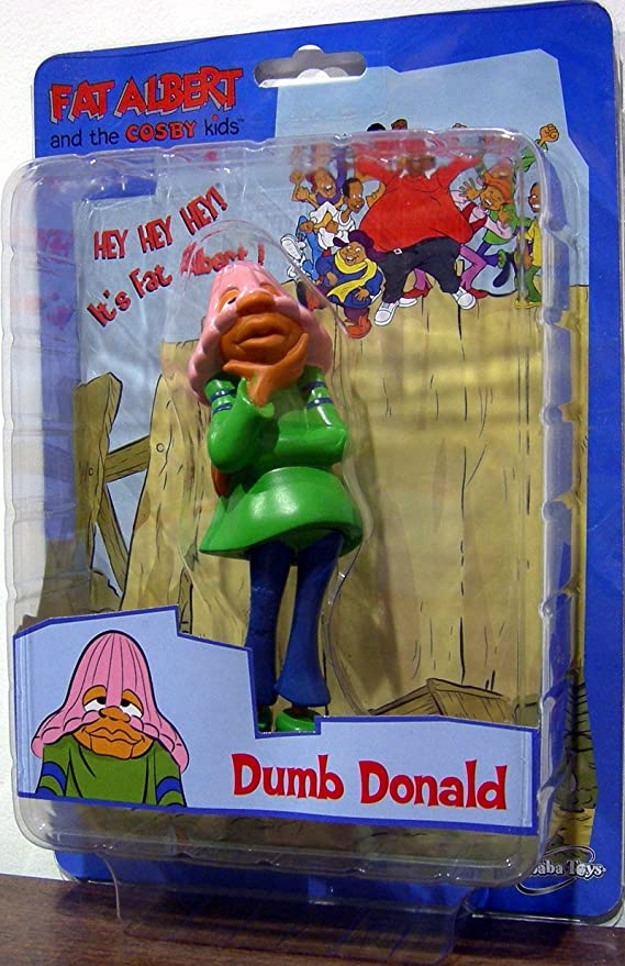 Sababa Toys Fat Albert Cosby Kids 4 Figures Full Set