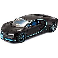 Bburago Bugatti Chiron en escala 1:18 en negro