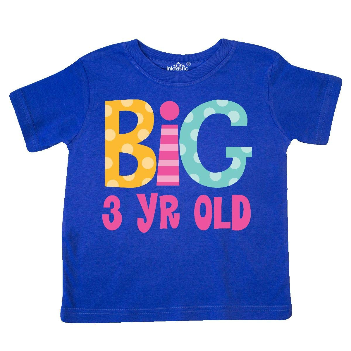 inktastic Big 3 Year Old 3rd Birthday Toddler T-Shirt