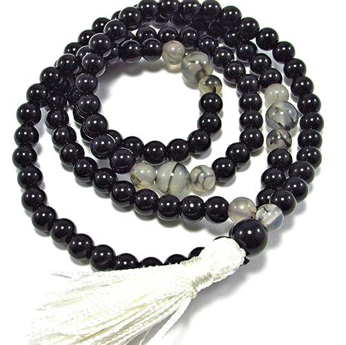 Amazon.com: HANDMADE Root Chakra Natural Gemstones Japa Mala ...