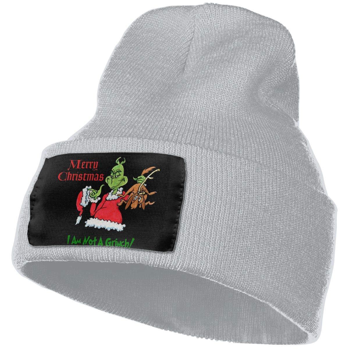 SLADDD1 Grinch Stole Christmas Warm Winter Hat Knit Beanie Skull Cap Cuff Beanie Hat Winter Hats for Men /& Women