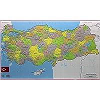 Türkiye Haritası Yapboz 40171