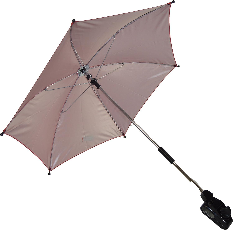 Baby ombrellone compatibile con Bebecar passeggino carrozzina rosso