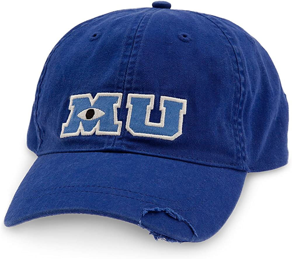 Amazon Com Disney Monsters University Baseball Cap For Adults Blue Clothing