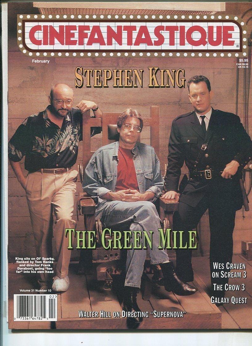 Cinefantastique Vol 31#10 Feb. 2000 Stephen King(The Green Mile) MBX25