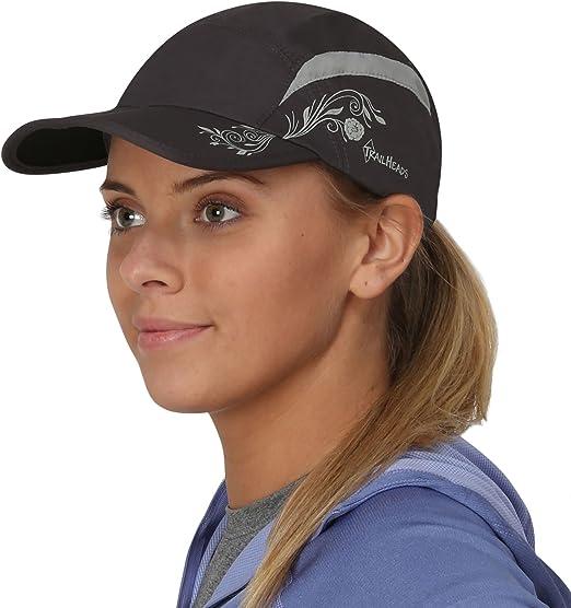 Kappe Damen TrailHeads Laufkappe mit UV-Schutz Damen Cap Schirmm/ütze Damen