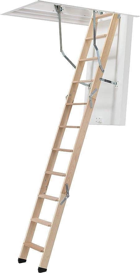 Dolle clickFIX 76 de madera plegable Loft Escalera (1200 x 700 mm): Amazon.es: Bricolaje y herramientas