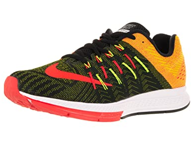 Nike Men's Zoom Elite 8 Running Shoes Black/Volt/Total Crimson N23t3874