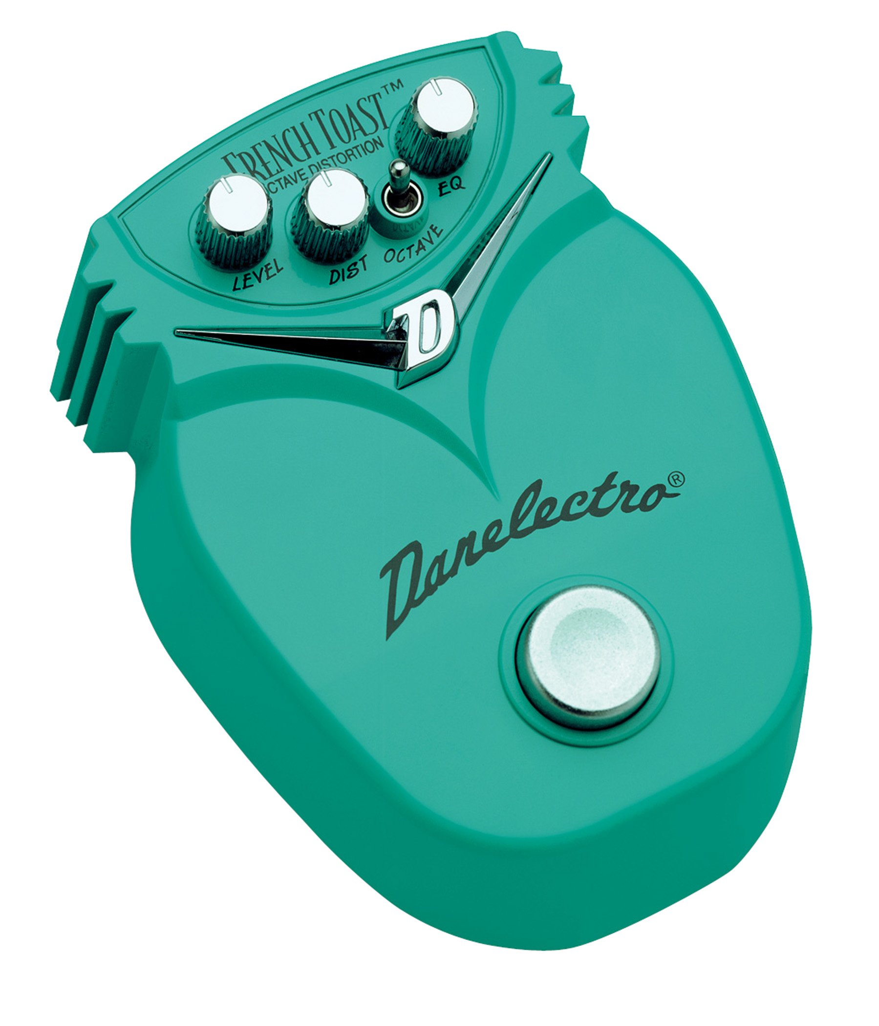 Danelectro DJ-13 French Toast Octave Distortion Mini Effects Pedal by Danelectro