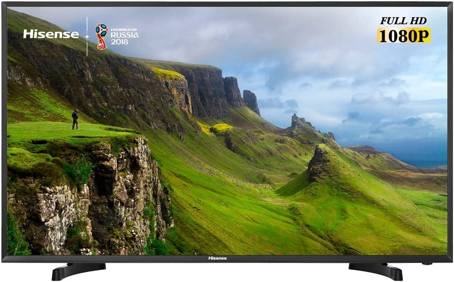TV 39 LED HISENSE H39N2110C Full HD 3HDMI USB Modo Hotel: Hisense ...