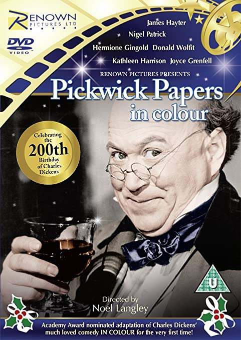 catalogue noel 2018 picwick The Pickwick Papers  In Colour! [DVD] [1952]: Amazon.co.uk: Noel  catalogue noel 2018 picwick