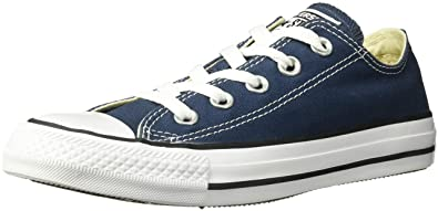 ca48e522ddb Image Unavailable. Image not available for. Color  Converse Unisex Chuck  Taylor All Star Low Top Navy Sneakers ...