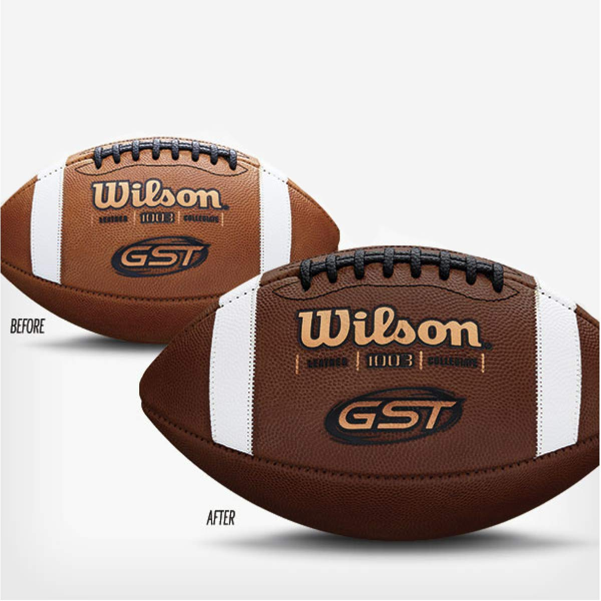 Wilson Unisex-Adult GAME BALL PREP KIT American Football