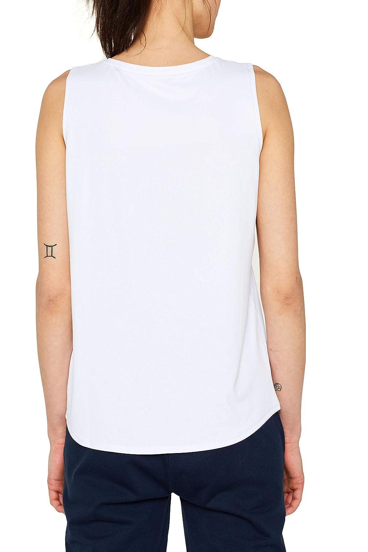 ESPRIT Sports Top Edry SL Camiseta Deportiva de Tirantes para Mujer