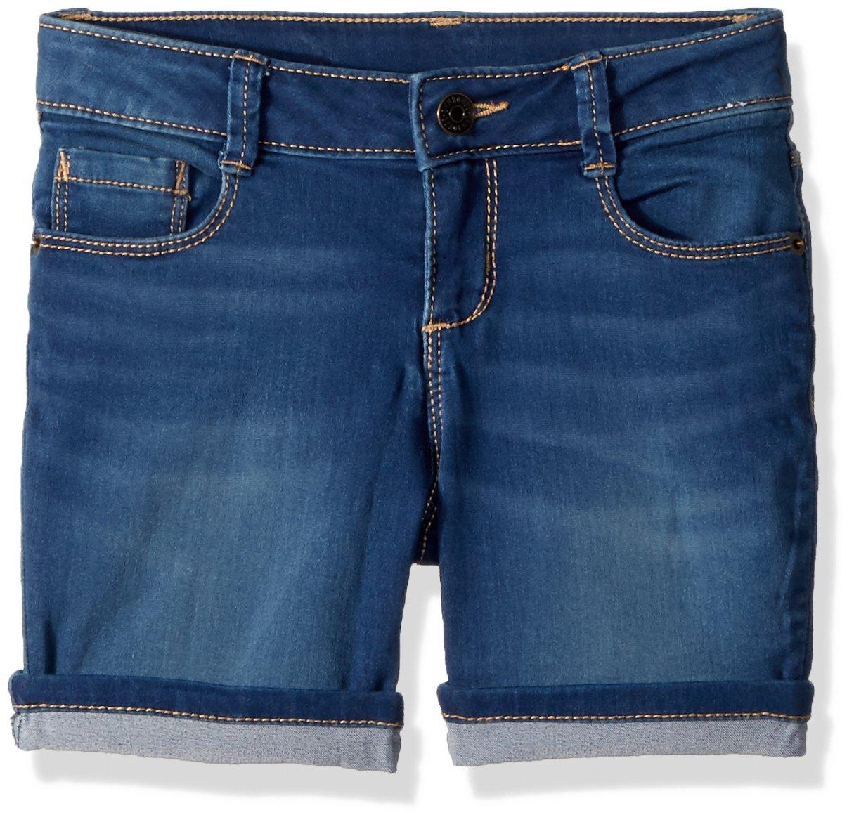 Gymboree Little Girls' Bermuda Shorts, Dark Denim, 10