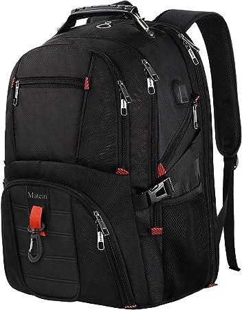 17 Inch Laptop School Backpack Large Travel Backpack Water Resistant