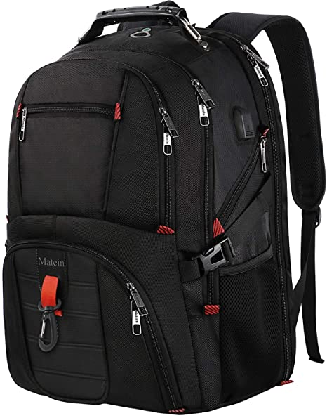 6f9a8a69fd0d Travel Backpack for International Travel, Matein TSA Friendly Laptop  Backpack Extra Large Capacity for 17 Inch Computers, Big Backpack for  College ...
