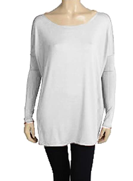 c42f36a99e2 Image Unavailable. Image not available for. Color  Piko Women s Famous Long Sleeve  Bamboo Top ...