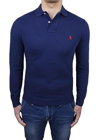 Ralph Lauren Polo Homme Bleu Bleu Small: : Vêtements et