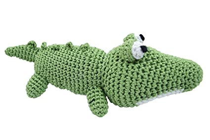 Pet Supplies Dog Teeth Cleaning Cotton Crochet Squeaky Dog Toy For