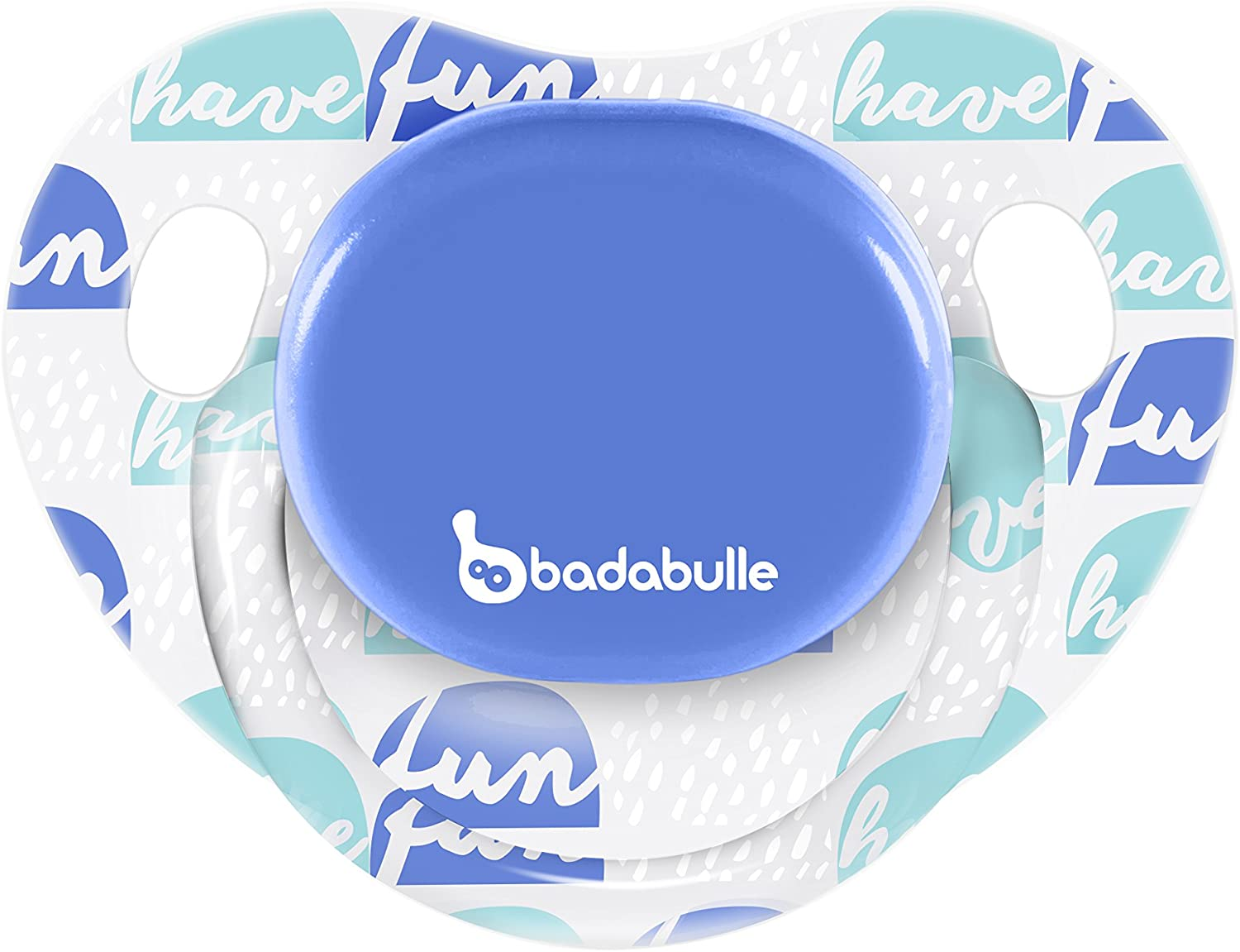 BADABULLE Boy Have Fun Pack de 2 Sucettes Physio 12-36 Mois