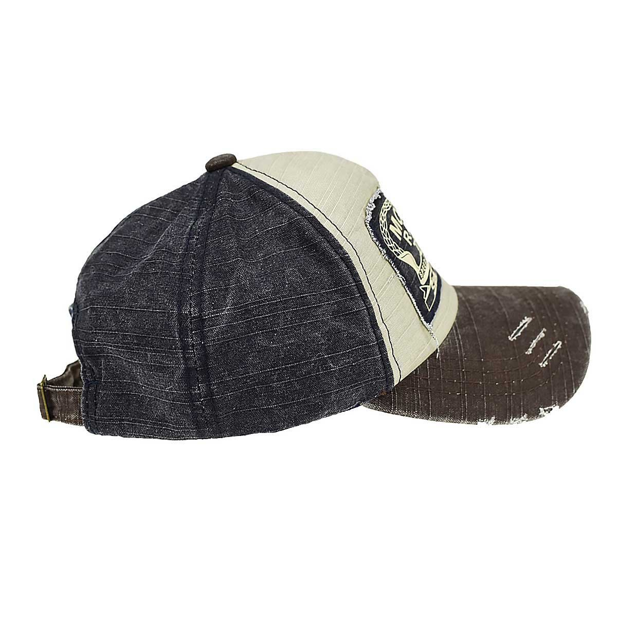 5116ccd4518 Yusongirl Vintage Washed Denim Baseball Cap Classic Cotton Dad Hat  Adjustable Plain Unisex(Coffee) at Amazon Men s Clothing store