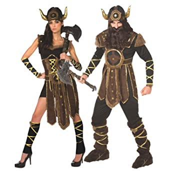 Mens Viking Costume Historic Brave Norse Warrior Quality Outfit for Men