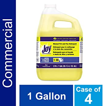 Dishwashing Detergent Degreaser from Joy Professional, Bulk Pot, Pan and Dish Liquid Soap for