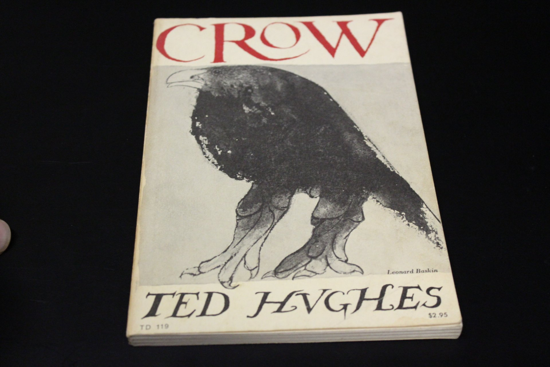 Crow: From the Life and Songs of the Crow, Hughes, Ted