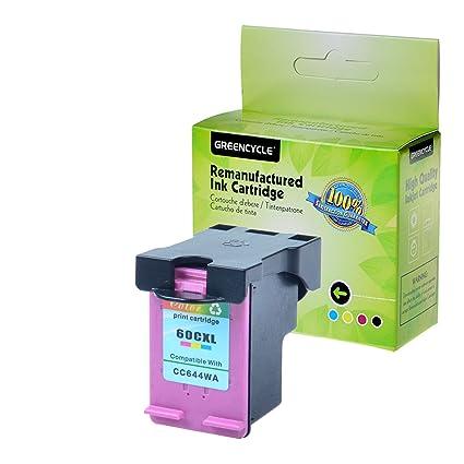 greencycle remanufacturados 60 x L CC644WN Color Cartucho de Tinta ...