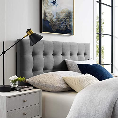 Modway Lily King Biscuit Tufted Performance Velvet Headboard
