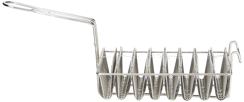 Taco Basket Moulds 8 Shells Fry Kettle Hook Thunder Group SLTA08