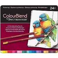 Spectrum Noir ColourBlend Premium Blendable Artists Pencils, Primaries, Pack of 24, 0 19.5 x 23.2 x 1.5 cm