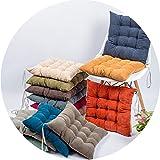 コーデュロイ枕のクッション冬のシンプルなファブリックダイニングチェア畳の椅子クッション,混色,40×40cm