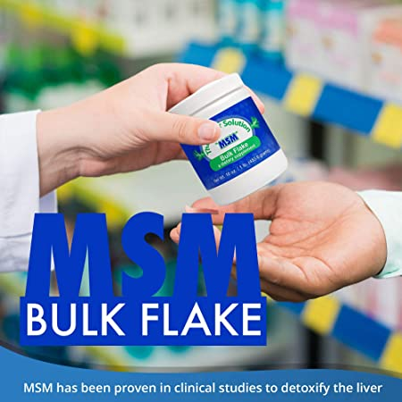 Purest OptiMSM Bulk Flakes Are Quadruple Distilled 1 LB