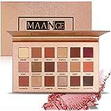HANNEA Eyeshadow Palette 18 Colors Highly Pigmented Eye Shadow Palette, 11 Matte + 7 Shimmer, Long Lasting Waterproof Colorful Eyeshadows Cosmetics