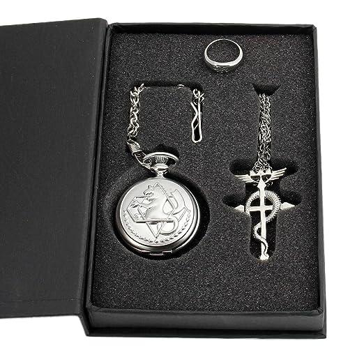 cruz reloj y anillo edward elric