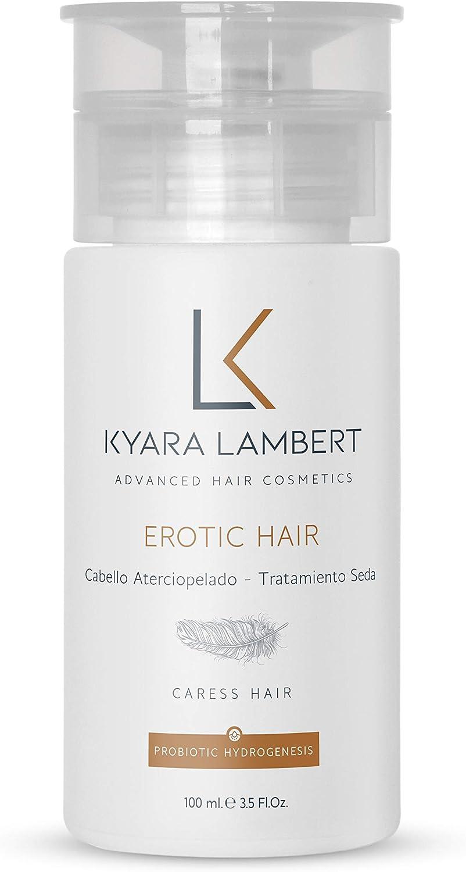 Kyara Lambert - Erotic Hair Silk Treatment, 100ml | Tratamiento Reparador de Seda Capilar | Cabello más Cuidado, Suave, Sedoso y Sexy
