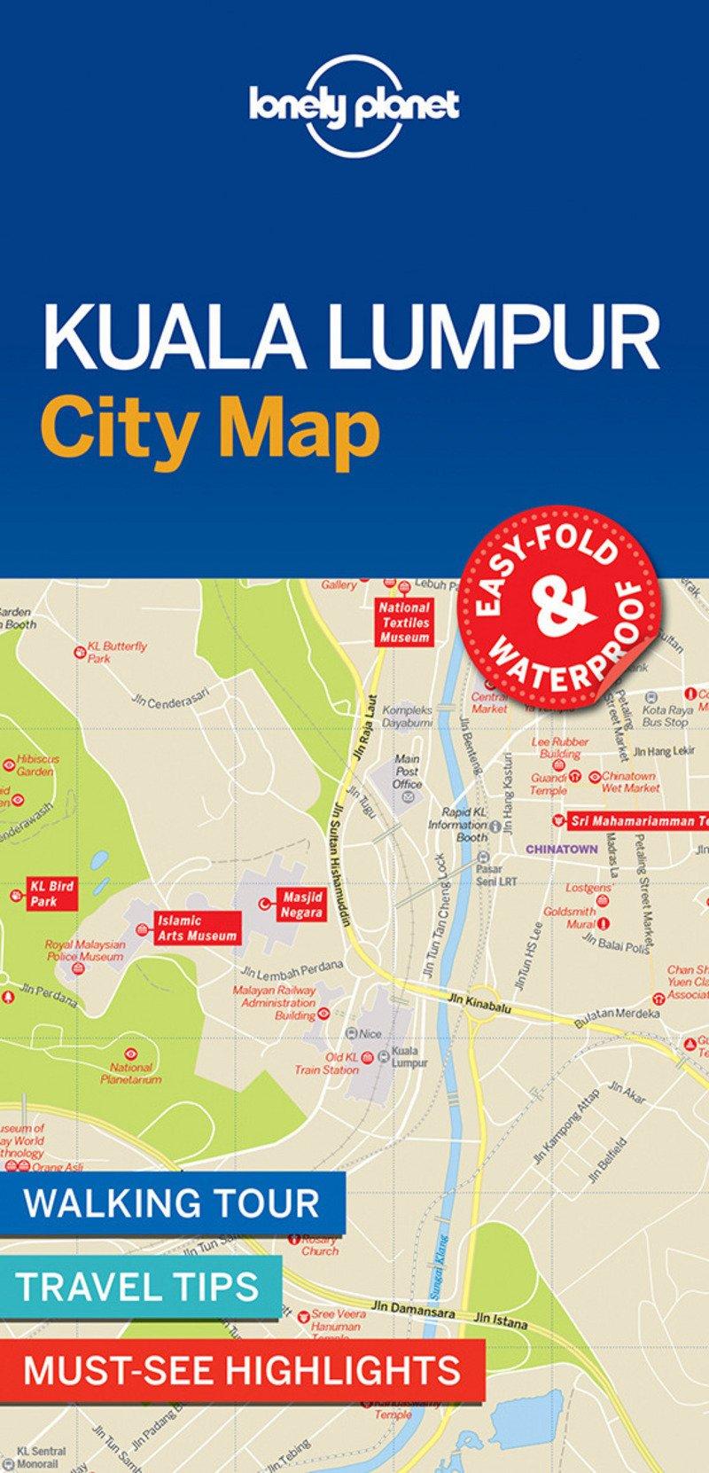 Kuala Lumpur City Map (Lonely Planet City Map)