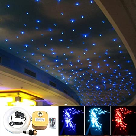 Decoration Optical fiber light DIY twinkle star fibre optic roof pool light kit