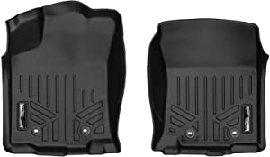 MAXLINER Floor Mats 1st Row Liner Set Black for 2018 Toyota Tacoma (All Models)