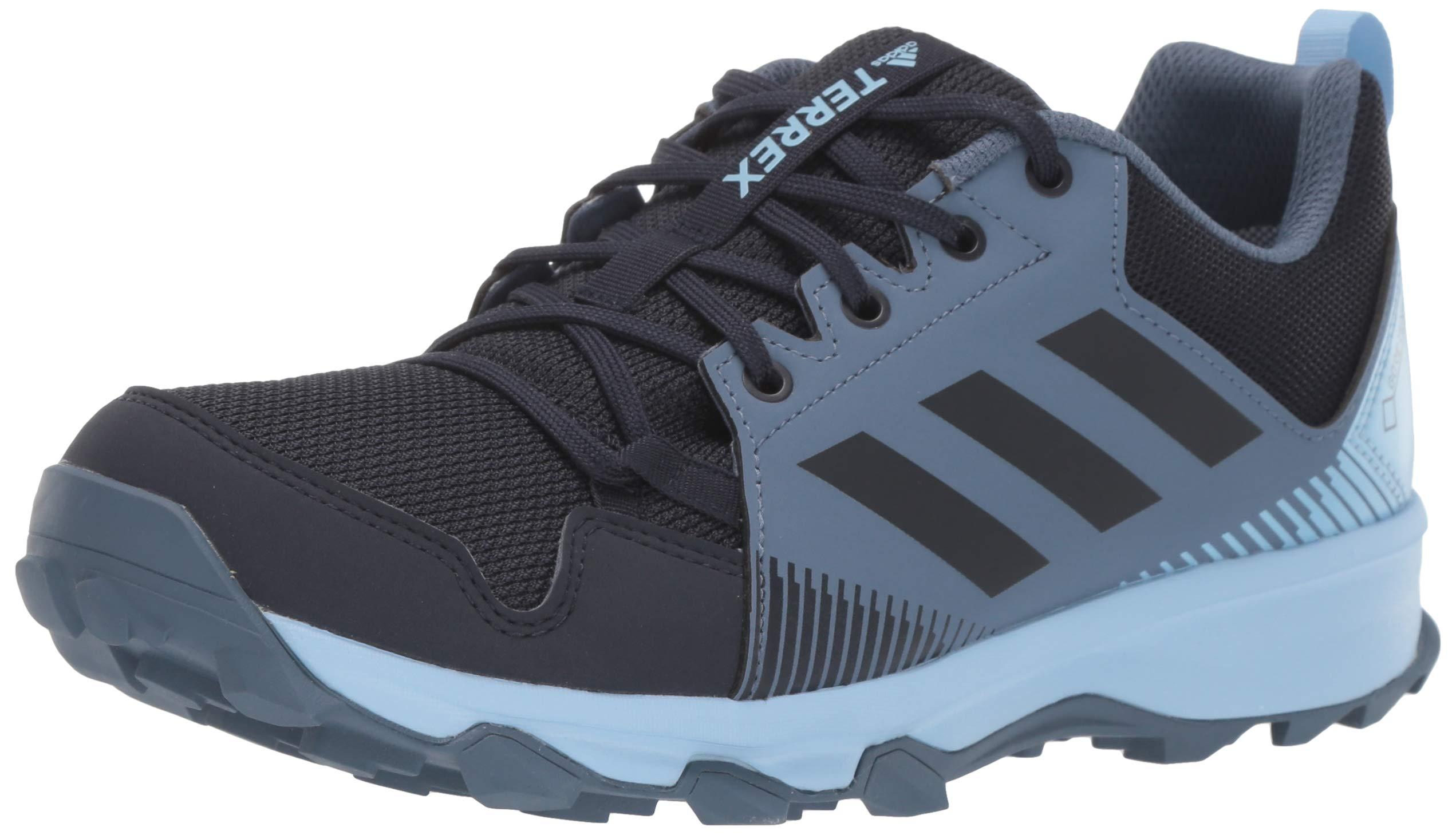 adidas outdoor Women's Terrex Tracerocker GTX Trail Running Shoe, Legend Ink/Glow Blue, 9 M US by adidas outdoor
