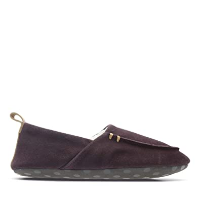 82d86acd87d5c Clarks Maven Mia Suede Slippers in Standard Fit Size 3 Purple ...