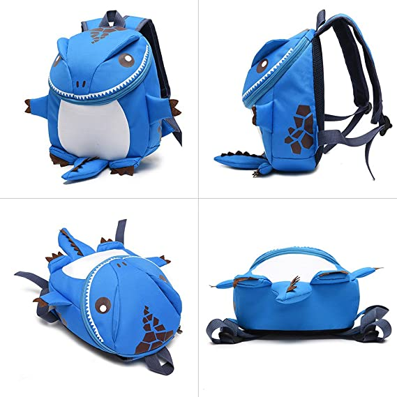 Amazon.com | KIKIGOAL Kindergarten Nursey Child Toddler School bag Dinosaur Kids Backpacks (pink) | Kids Backpacks
