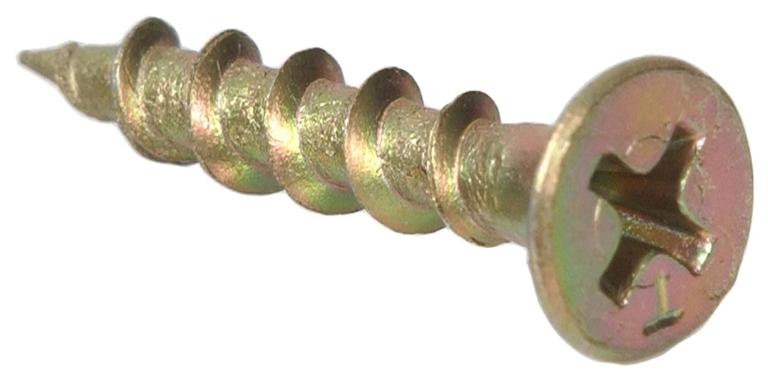 250-Pack The Hillman Group 48260 8 X 3-Inch Square Drive Multipurpose Wood Screw