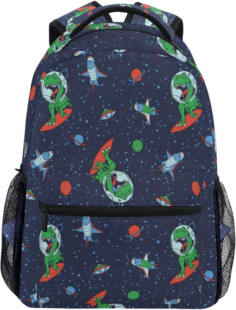 earth astronaut planet School bag rocket incl