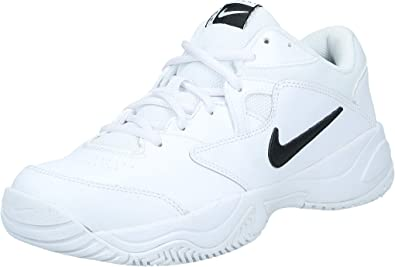 NIKE Men's Nike Court Lite 2 Shoe, white/black - white