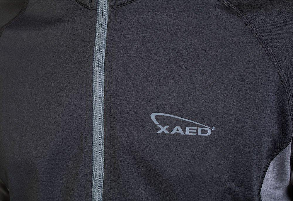 Xaed Herren Funktionsjacke Outdoor Sweatjacke Laufen Second layer