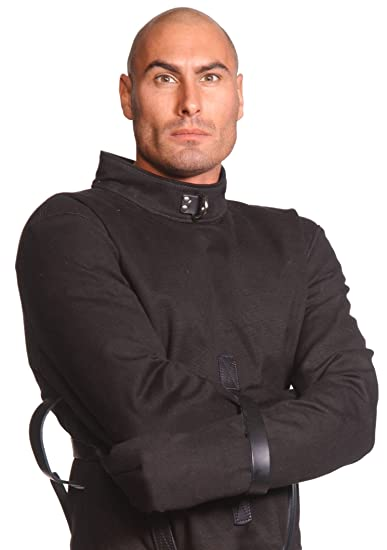 Amazon.com: Strict Leather Black Canvas Straitjacket, Medium ...
