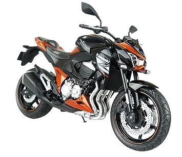 Skynet moto 1/12 productos terminados Kawasaki Z800 Naranja